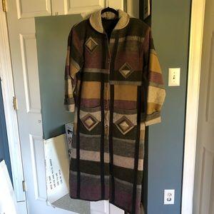 Coloratura Wool Duster Coat